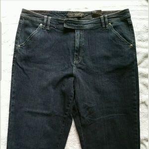 NWT Venezia stretch capri jeans size 16